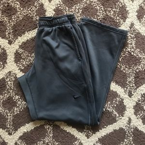 Nike Therma-Fit Charcoal Grey Sweatpants M
